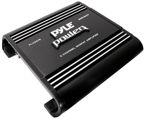 Pyle Pla2378 2-Channel 2,000-Watt Bridgeable Mosfet Amplifier