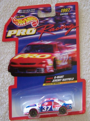 1997 Edition Team Hot Wheels Pro Racing Jeremy Mayfield #37 K-Mart Die Cast Car - 1