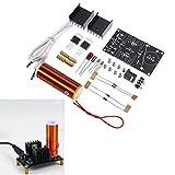 3pcs DC 15-24V 2A DIY Electronic Mini Music Tesla Coil Plasma Horn Speaker Kit Produce Arc Music Player Function