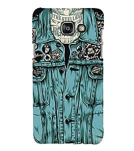 FUSON Stylish pattern Back Case Cover for Samsung Galaxy A7(2016)
