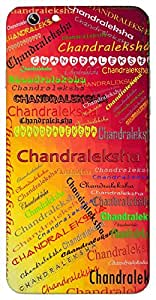 Chandraleksha (Popular Girl Name) Name & Sign Printed All over customize & Personalized!! Protective back cover for your Smart Phone : Samsung Galaxy S5 / G900I