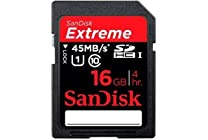 SanDisk Extreme Class 10 SDHC Card, Various Sizes