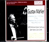テンシュテット指揮 マーラー 交響曲第1番「巨人」 交響曲第2番「復活」
