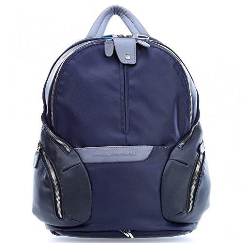 Piquadro Coleos 13'' Zaino per laptop blu scuro