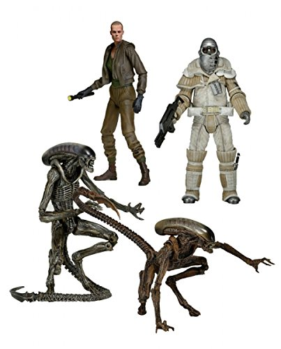 "Aliens 7"" Figure Series 08 Alien 3 - Set of 4"