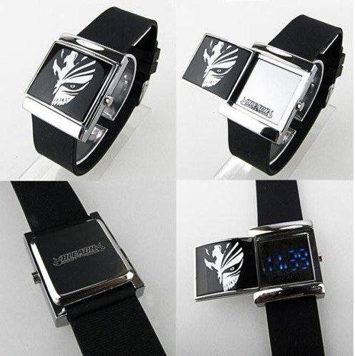 Cosplay Costume Anime Watch Wrist Watch With Cool Led Bleach