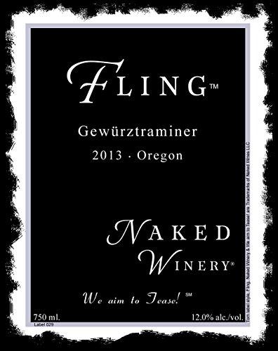 2013 Naked Winery Fling Gewurztraminer 750 Ml