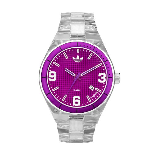 Adidas Originals Unisex 44mm Purple Dial Cambridge Analogue Watch - ADH2513