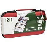 Lifeline 121 Piece First Aid Kit (Red)