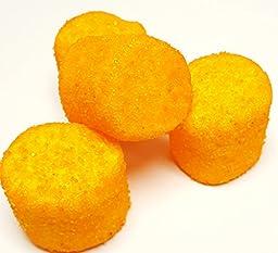 Sugared Marshmallows Orange 1 Pounds 50 Pieces