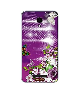 instyler SKIN STICKER FOR MICROMAX CANVAS DOODLE 4 Q391