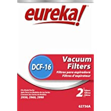 Genuine Eureka DCF-16 Filter 62736A - 2 filters