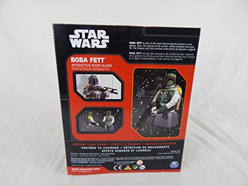 Qiyun Star Wars Spin Master Boba Fett Interactive Room Guard