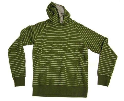 Dickies Zodiac Mens Olive Green Zip Hoodie: Medium