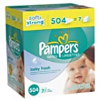 Pampers Softcare Baby Fresh Wipes 7x...