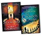 J.K.Rowling Robert Galbraith Robert Galbraith & J.K.Rowling Cormoran Strike 2 Books Collection Pack Set (The Cuckoo's Calling, The Silkworm-Hardcover)