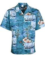 Mens Hawaiian Shirts Short Sleeve Shirt Tree Beach Floral And Printed Colorful Graphicss