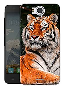 "Tiger Face Printed Designer Mobile Back Cover For ""Google Infocus M530"" By Humor Gang (3D, Matte Finish, Premium Quality, Protective Snap On Slim Hard Phone Case, Multi Color)"