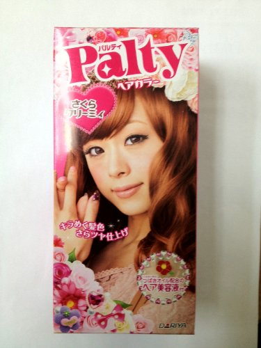 Palty Hair Color Dye - Sakura Creamy (2010 New