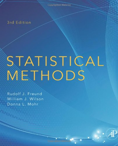 Statistical Methods, Third Edition front-76147