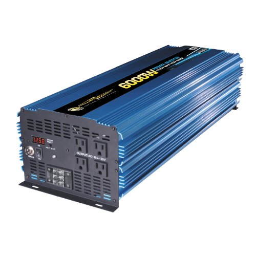 Power Bright PW6000-12 Power Inverter 6000 Watt 12 Volt DC To 110 Volt AC (Power Bright compare prices)