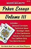 Poker Essays, Volume III