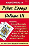Poker Essays, Volume III