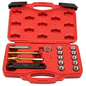 Qbace Brake Calliper Thread Repair Kit M12X1.5mm