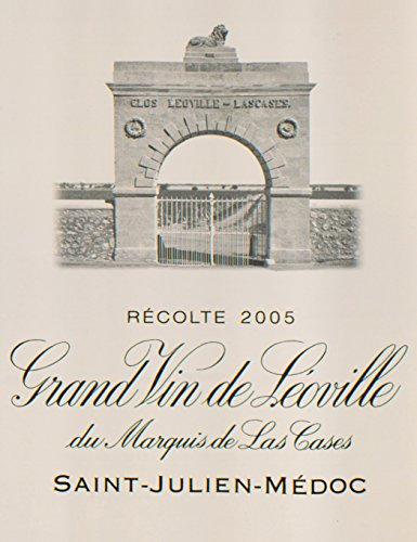 2005 Leoville Las Cases St Julien 750 Ml