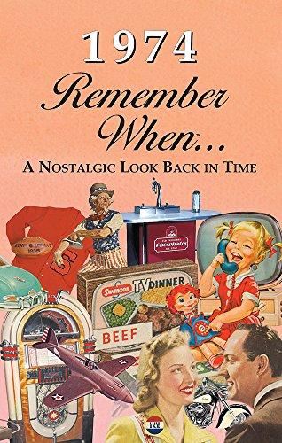 Seek Publishing 1974 Remember When Kardlet (RW1974)