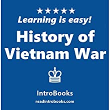 History of Vietnam War Audiobook by  IntroBooks Narrated by Tracy Tupman