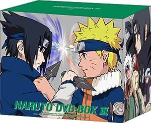 NARUTO-ナルト- DVD-BOX III 激突!ナルトVSサスケ