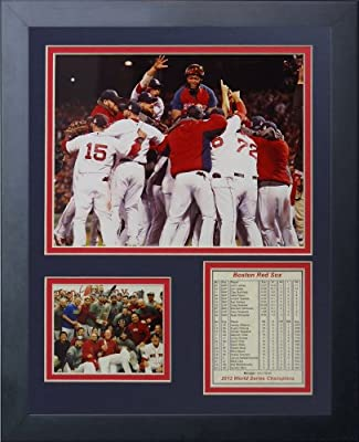 "Legends Never Die ""2013 Boston Red Sox World Series Champions"" Huddle Framed Photo Collage, 11 x 14-Inch"
