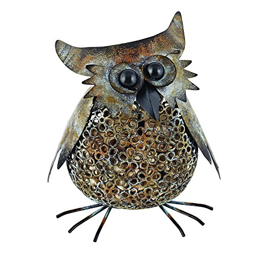 True Fabrications Twine Perfect Wine Lover Gift, Metal Cork Holder - Vintage Owl front-544468