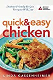 img - for Quick and Easy Chicken: Diabetes-Friendly Recipes Everyone Will Love book / textbook / text book