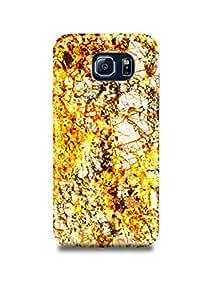 Golden Marble Samsung S7 Edge Case