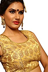 Melluha Mono Net Stitched Customizable Blouse with Satin Inner