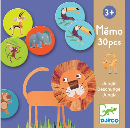 Djeco / Memo Jungle Memory Game