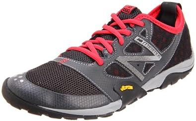 New Balance Men's MT20v1 Trail Minimus Shoe,Grey/Red,14 D US
