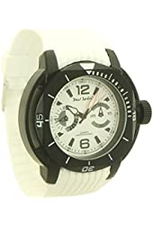 Paul jardin sport style wristwatch rubber for Paul jardin quartz watch