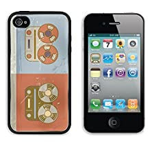 buy Msd Apple Iphone 4 Iphone 4S Aluminum Plate Bumper Snap Case Retro Vintage Grunge Reel To Reel Tape Recorder Icon Image 21853474