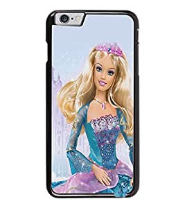 PrintDhaba Barbie Queen D-1024 Back Case Cover for APPLE IPHONE 6 (Multi-Coloured)
