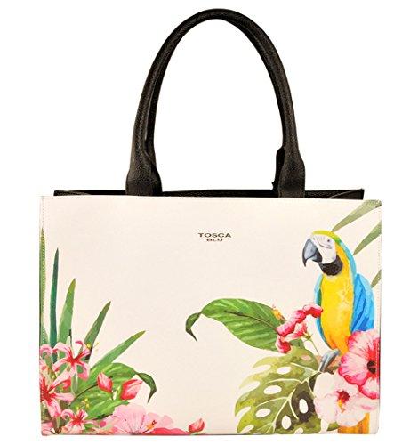 Borsa Shopping Tosca Blu | Parrots | P/E 2016 | TS1635B10-Nero