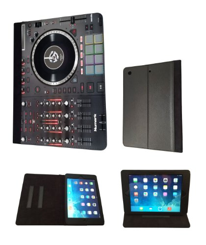 Apple ipad air 2 2014 DJ Mixer Controller Dj Clubbing Music Men Case Design Fashion Trend TPU Leather Flip Case For All Apple ipad air 2 2014 Full Case Book Style Flip Leather Stand Cover (Mixer 2 Chanel compare prices)