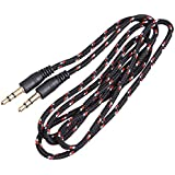 Ace Seller 3.5mm Male to 3.5mm Male Audio Cable Cord, 3.3-Feet, Black