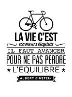 ZZ-Ambiance-sticker Vinilo Decorativo La Vie C'Est Comme Une Bicyclette