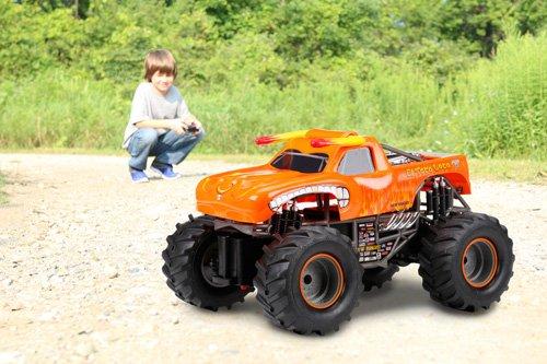 New Bright F/F Monster Jam El Toro Loco RC Car (1:15 Scale ...