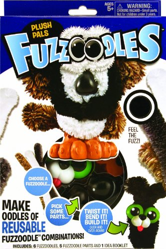 Poof-Slinky 0G4200255 Ideal Fuzzoodles Plush Pals Construction Kit