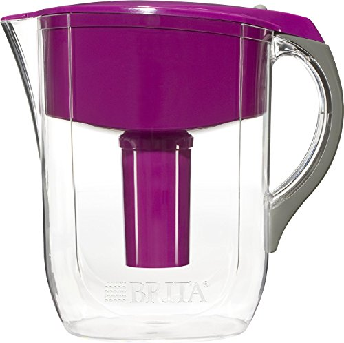 Brita 10 Cup Grand BPA Free Water Pitcher with 1 Filter, Violet (Water Filter Pitcher compare prices)