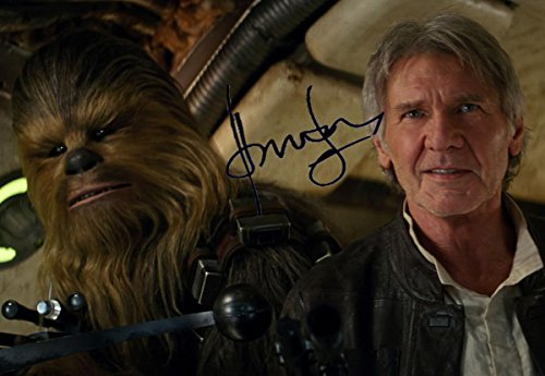 STAR-WARS-THE-FORCE-AWAKENS-Autographed-by-Harrison-Ford-REPRINT-8x10-inch-Photo-RP